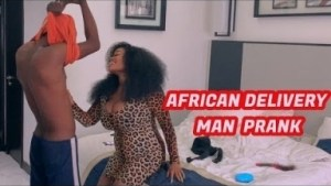 Zfancy Comedy – AFRICAN DELIVERY MAN PRANK